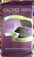 Бельгийский тёмный шоколад 53% какао Cachet / Кашет 300 грамм Бельгия