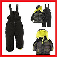 Новый теплый детский комбенизон + куртка на 3-4 года из Америки