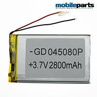 Универсальный внутренний аккумулятор 04x50x80 (2800MAH 3,7V)