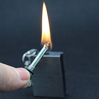 Огниво вечная спичка брелок зажигалка стиль Zippo