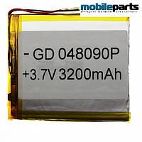 Универсальный внутренний аккумулятор 04x80x90 (3200MAH 3,7V)
