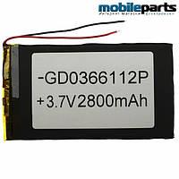 Универсальный внутренний аккумулятор 03x66x112 (2800MAH 3,7V)