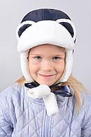 Красивая зимняя  шапка для  девочки и мальчика