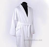 Махровый халат для гостиниц Nostra белый XXL