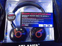 ATLANFA AT-7602 Беспроводные наушники с MP3 плеером и FM Atlanfa Monster AT-7602