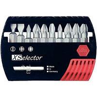 Wiha W26982 Набор бит в пластмассовой коробке с универсальным магнитным держателем форма Е 6,3