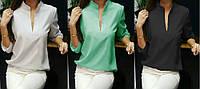 Блузка женская офисная - 6 модных расцветок!