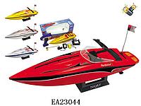 Детские игрушки, радиоуправляемый катер 757-4023, на аккумуляторе, масштаб 1:25. Катер игрушка