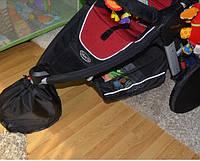 Защитный чехол- мешочек с утяжкой  для поворотных колес коляски или велосипеда.