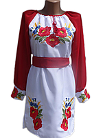 "Жіноче вишите плаття ""Кейлі"" (Женское вышитое платье ""Кейли"") PN-0006"