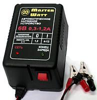 Автоматическое зарядное устройство 6В 0,3-1,2А для мото аккумуляторов