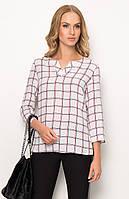 Женская блуза в клетку. Модель Z42 Sunwear. Коллекция осень-зима 2017.