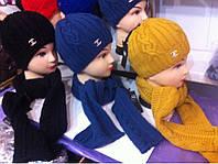 Набор Шапка и Шарф (шапка на флисе)