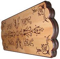 Игра «Нарды» в деревянном кейсе из бука