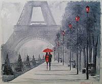 «В Париже выпал снег» картина маслом