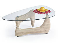 Журнальный столик Halmar Karen дуб сонома в необычном дизайне
