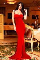 Вечернее бархатное длинное облегающее платье ( 2 цвета )