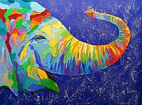 «Улыбчивый слон» картина маслом
