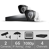 """Комплект видеонаблюдения """"FullHD-2""""  (1980×1080)"""