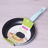 Сковорода Kamille 24см с антипригарным покрытием без крышки