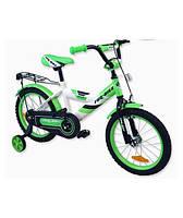 Велосипед детский 2-х колесный Alexis 14 зеленый