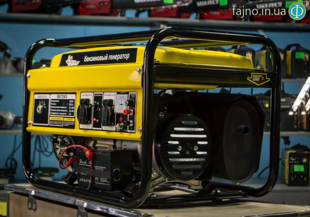 Бензиновый генератор Кентавр КБГ 258Э фото 1