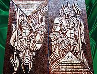 """Нарды подарочные резные  """" Боги Египта """""""