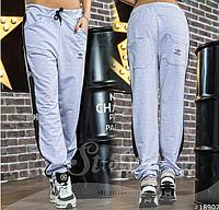 """Спортивные женские брюки """"Adidas"""",норма 42+"""