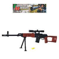 Ружье с пульками, лазер, подставка ES 444 P361А