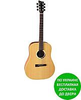 Акустическая гитара VG500802 VGS GB-12 Grand Bayou Natural Satin Open Pore
