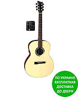 Электроакустическая гитара VG501830 VGS BR-30 E Belle Rose Natural Gloss / Satin Neck
