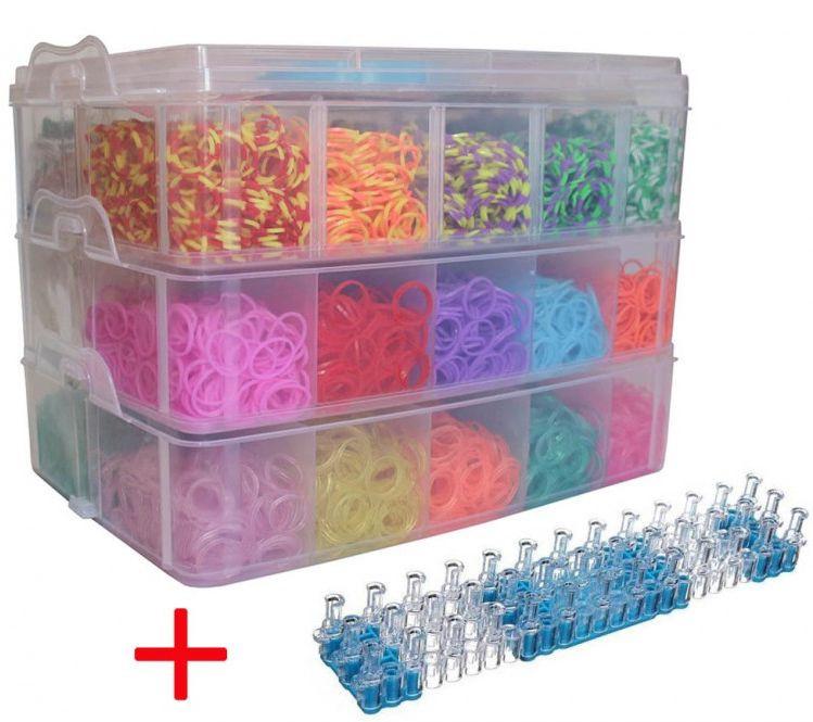 Мега-набор для плетения из резинок
