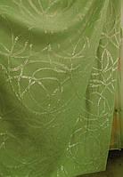 Жаккардовые ткани для штор(зеленый)