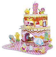 """Детский 3D пазл """"Домик сладостей"""" (Home Sweet Home 3D Puzzle) больше 100 деталей ТМ Melissa & Doug MD9460"""