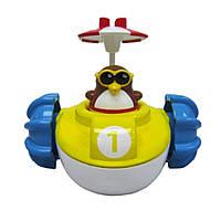 """Игрушка для ванны """"Пингвинчик на водном велосипеде"""" для детей от 1 года ТМ Water Fun 23206"""