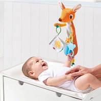 Игрушка-подвеска  для кроватки «Кенгуру» для детей от 0 до 18 месяцев ТМ Tiny Love 1304406830