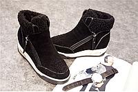 Ботинки женские зимние натуральная кожа