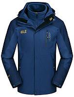 Мужская куртка 3 в 1 JACK WOLFSKIN. Зимние куртки мужские. Куртки спортивные. Стильные мужские куртки.