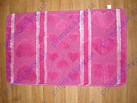 Набор ковриков для ванной комнаты розовый. Коврик в ванную купить