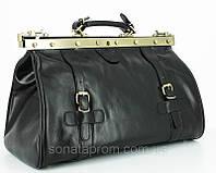 Саквояж кожаный среднего размера Katana 8253