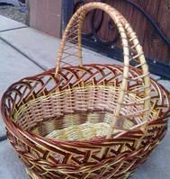 Корзина плетеная для фруктов
