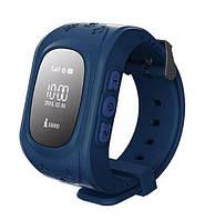 Детские часы с GPS-трекером Smart Baby Watch Q50 dark blue Русс Гарантия 12 мес