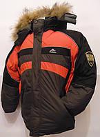 Куртка зимняя детская на мальчика 4 - 8 лет