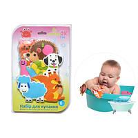 Набор фигурок на присосках для игры малышей в ванной Kinderenok Fixi Mixi