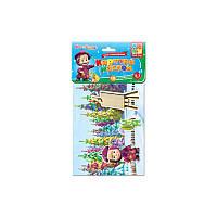 Игра с мяг.наклейками Картина маслом VT4206-13