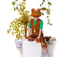 Детский новогодний костюм Мишка / Хомяк коричневый от 3 до 7 лет