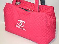Вместительная женская сумка Chanel (Шанель). Стёганая сумочка. Хорошее качество. Интернет магазин. Код: КДН983