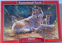 Пазл 1500 Волки Картина 151400 Castorland Польша