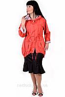 Куртка , дождевик из галограммной  2-х сторонней плащевки,большие размеры ,(ПО 012).