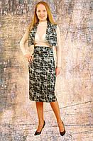 Костюм женский , молодежный , для подростков , деловой , джинс стрейч, кос 001.